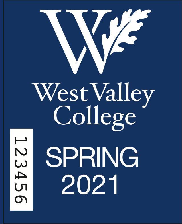 West Valley College Parking Permit