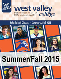 Summer/Fall 2015 schedule