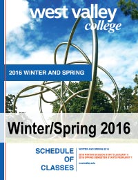 Winter/Spring 2016 schedule