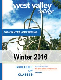 Winter Session 2016 Class Schedule