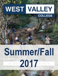 Summer/Fall 2017 schedule