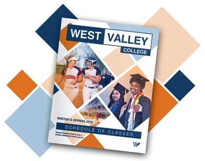 West Valley College Summer/Fall 2019 Class Schedule Cover