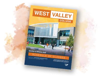 Class Schedules West Valley College
