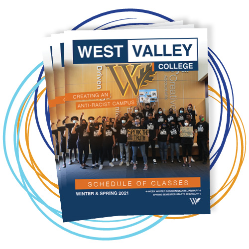 West Valley College Fall 2020 Class Schedule Cover