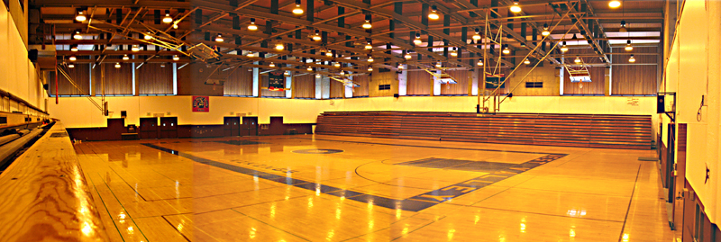 Large gym at West Valley College