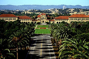 Stanford quad photo