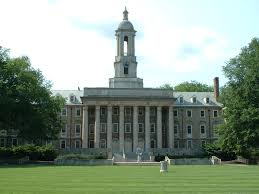 Photo of Penn State University campus.