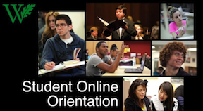 Student Online Orientation video