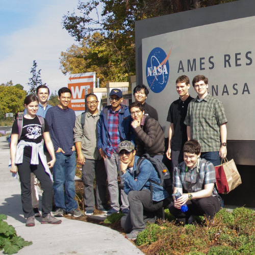 West Valley College field trip to NASA