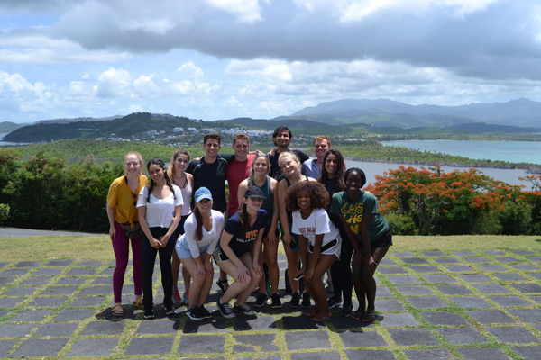 Service Learning group in Puerto Rico