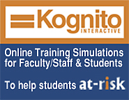 Kognito Interactive logo - Online Training Simulations for Faculty, Staff, and Students to Help Students at Risk