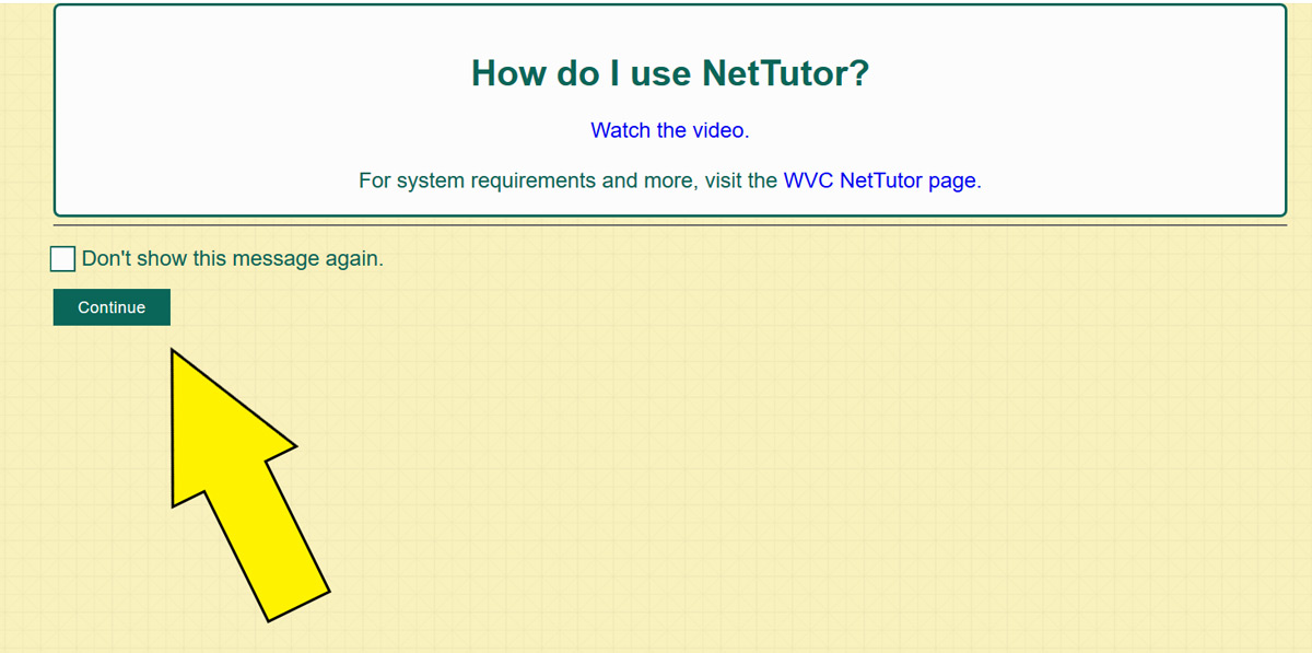NetTutor help video